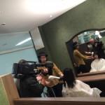 撮影にも使われる美容室???