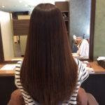 ロングヘアーは、まとまりが命、〜Cueを使った縮毛矯正編〜