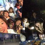 今日は、江戸川の花火大会、