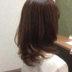 新たな縮毛矯正法で毛先には軽やかな動きをプラス!